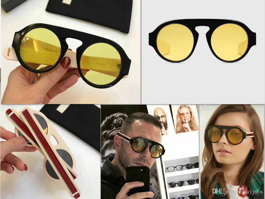 5404364150 2018 New Luxury Fashion Designer Sunglasses 2156 Retor Round Frame ...