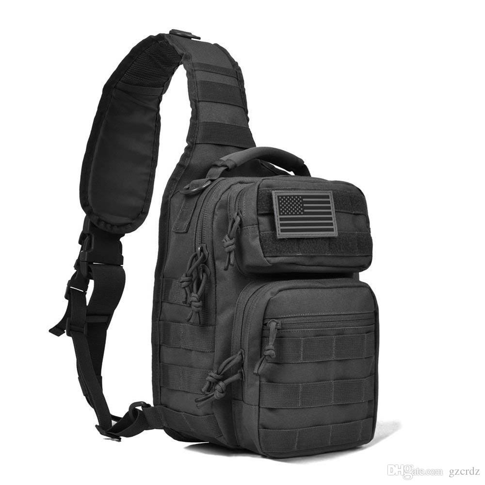 Sports & Entertainment Tactical Sling Bag Outdoor Military Bag Shoulder Back Cros Body Chest Functional Storage Bag For Men Womens Sports Bags