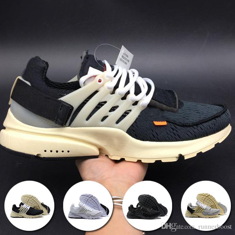 timeless design f073b 4d286 Großhandel Neue Prestos Running Männer Frauen Schuhe Für Günstige Presto  Air BR QS Gelb Schwarz Weiß Essential Jogging Sneakers Größe 36 45 Von  Runnerboost, ...