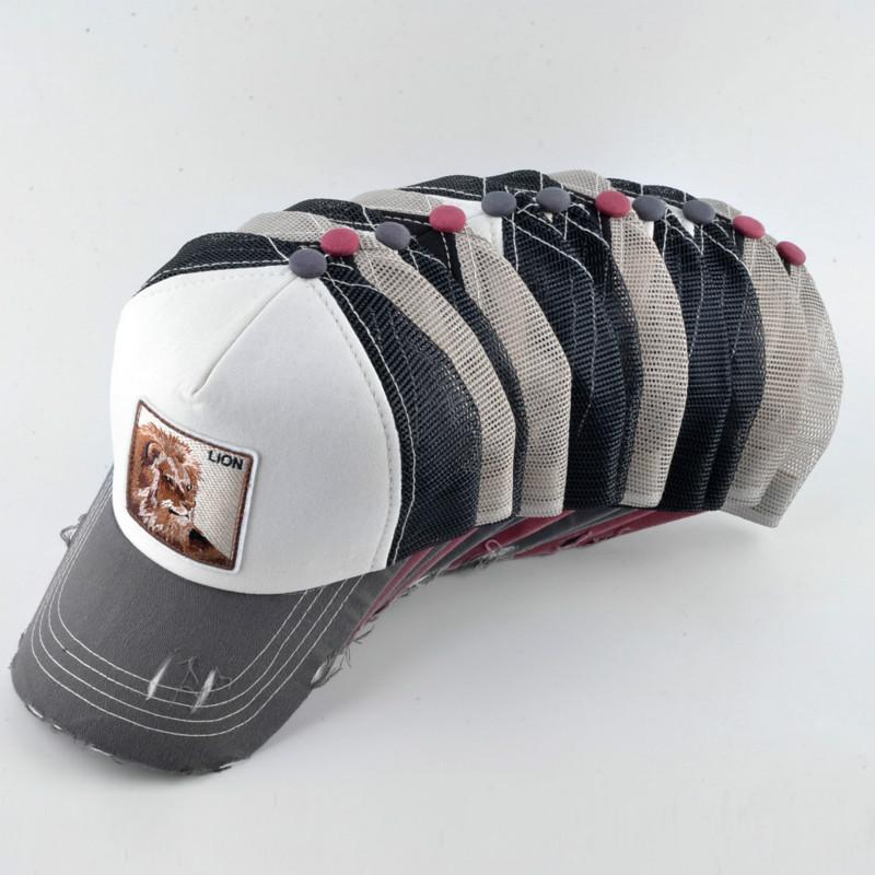 2018 Men Hip Hop Hat Breathable Mesh Baseball Caps Women Embroidery ... a9f09d26ded7