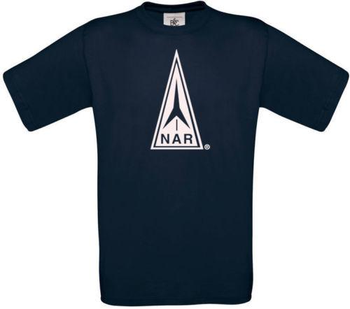 NAR National Association of Rocketry T-shirt Funny free shipping Unisex  Casual tee gift