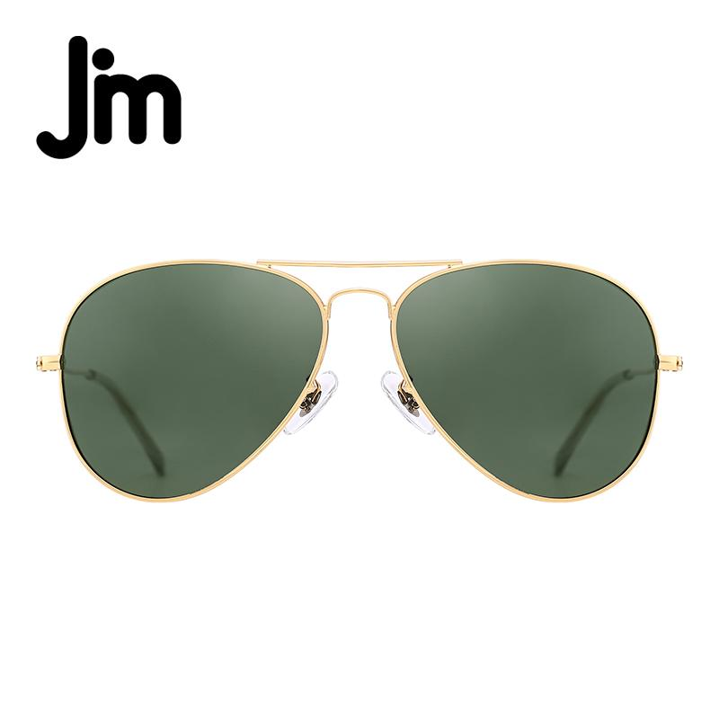 f3121a367072 JM Retro Mirror Aviation Polarized Flash Tinted Lens Driving Sunglasses For Women  Men UV400 Metal Frame Vintage Sun Glasses Spitfire Sunglasses Native ...
