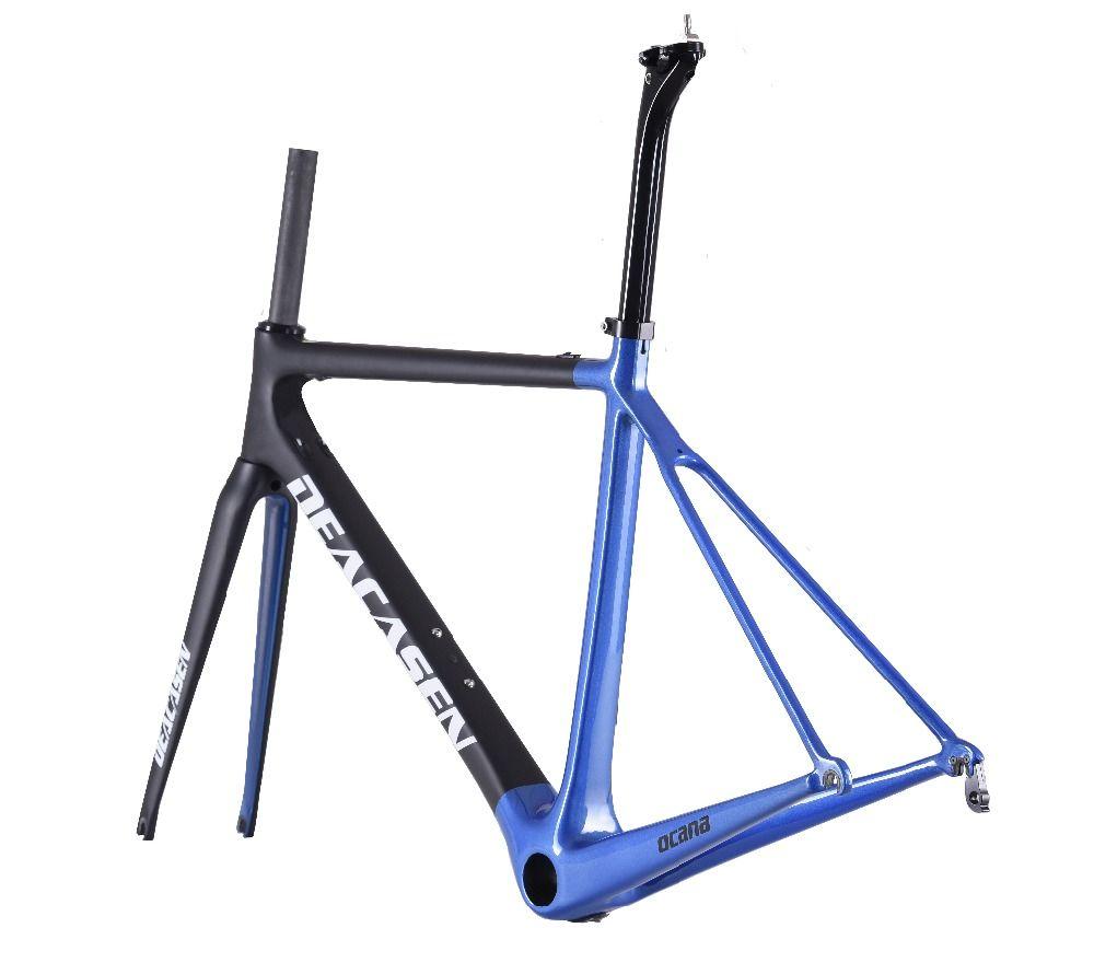 9cb6e7d566b 2018 New Carbon Road Bike Frame Di2 And Mechanical 480/510/540/560 ...