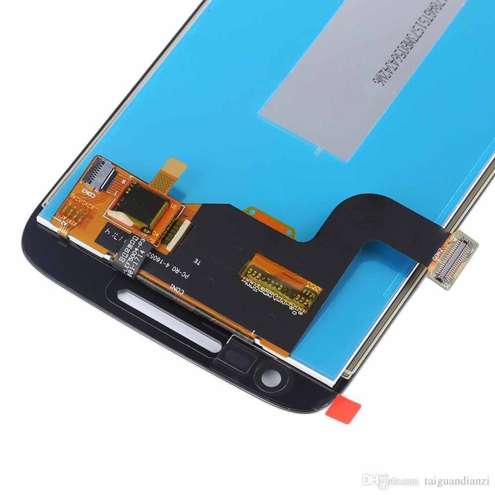 لموتورولا موتو g4 تلعب XT1603 XT1601 XT1604 XT1602 شاشة lcd لمس الشاشة محول الأرقام الجمعية استبدال ، شحن مجاني