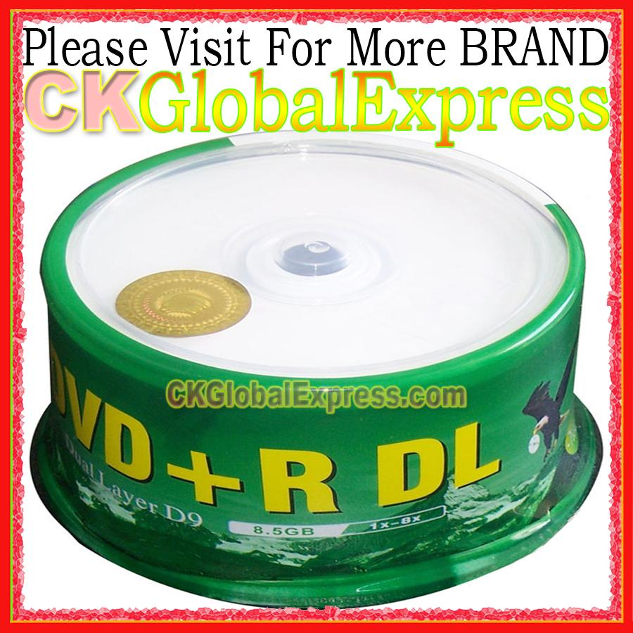photo relating to Printable Dvd Disc identify FOR Banana DVD R DL 8.5GB 10Computers 50Desktops Totally free Present 8X D9 Double Layer Printable Recordable Disc Media DVD disc