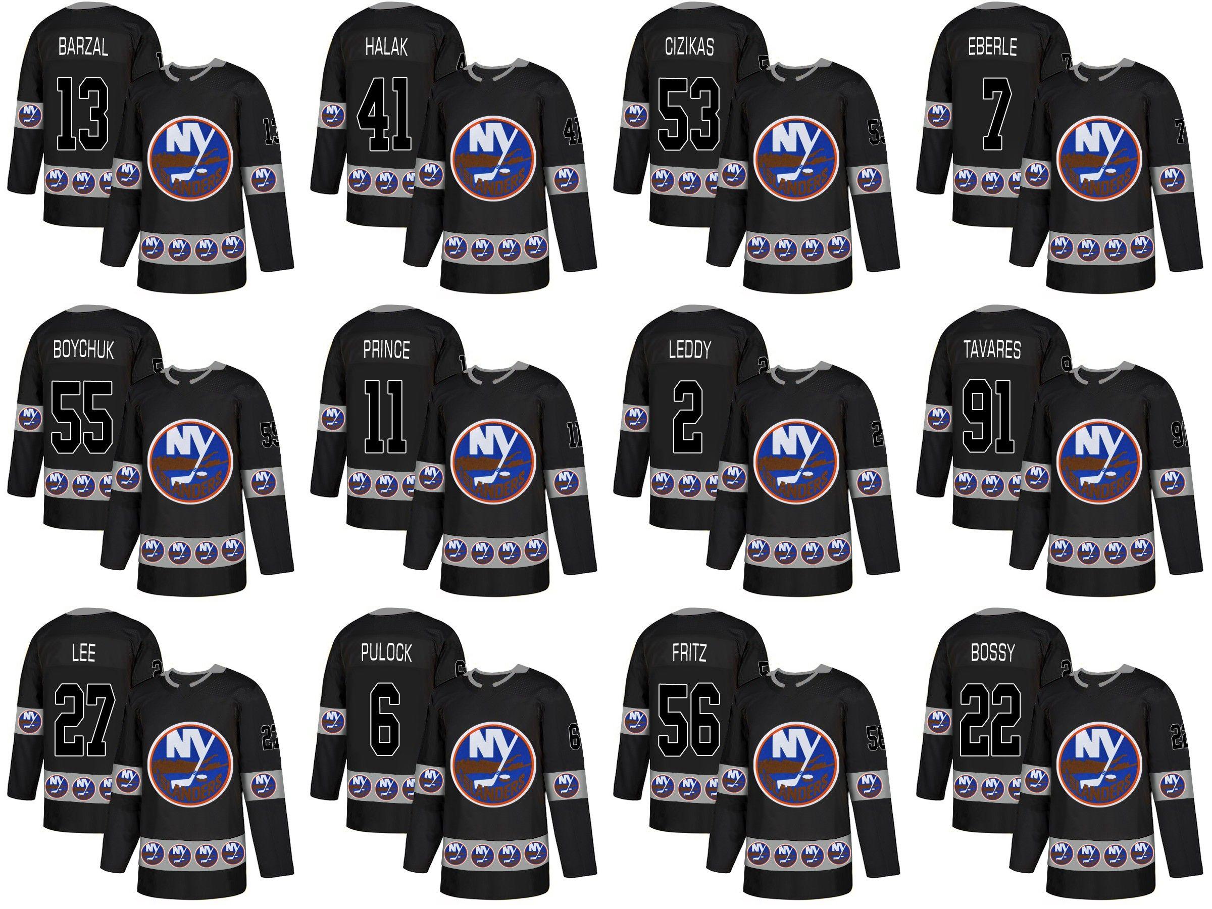 8e90338ad 2019 New York Islanders Mathew Barzal Anders Lee Johnny Boychuk Josh Bailey Ryan  Pulock Cal Clutterbuck Fashion Team Logos Hockey Jerseys From Cn Sell