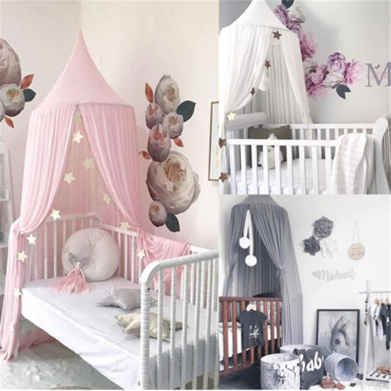 Großhandel Baby Kinder Prinzessin Bett Baldachin Bettdecke Moskitonetz  Vorhang Bettwäsche Kuppelzelt Von Diaolan, $33.64 Auf