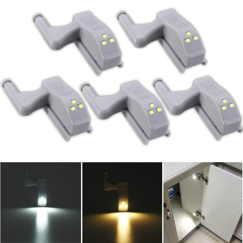 2018 0.25w Furniture Hardware Hinge Light Smart Led Night Light Lamp Sensor  Closet Cabinet Wardrobe Lamp Warm White/Pure White From Jigsaw, $36.65 |  Dhgate.