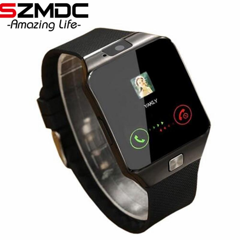 9f9b008d639 Bluetooth Smart Watch Smartwatch DZ09 Android Phone Call Relogio 2G GSM SIM  TF Card Camera for IPhone Samsung HUAWEI PK GT08 A1 Online with   42.77 Piece on ...