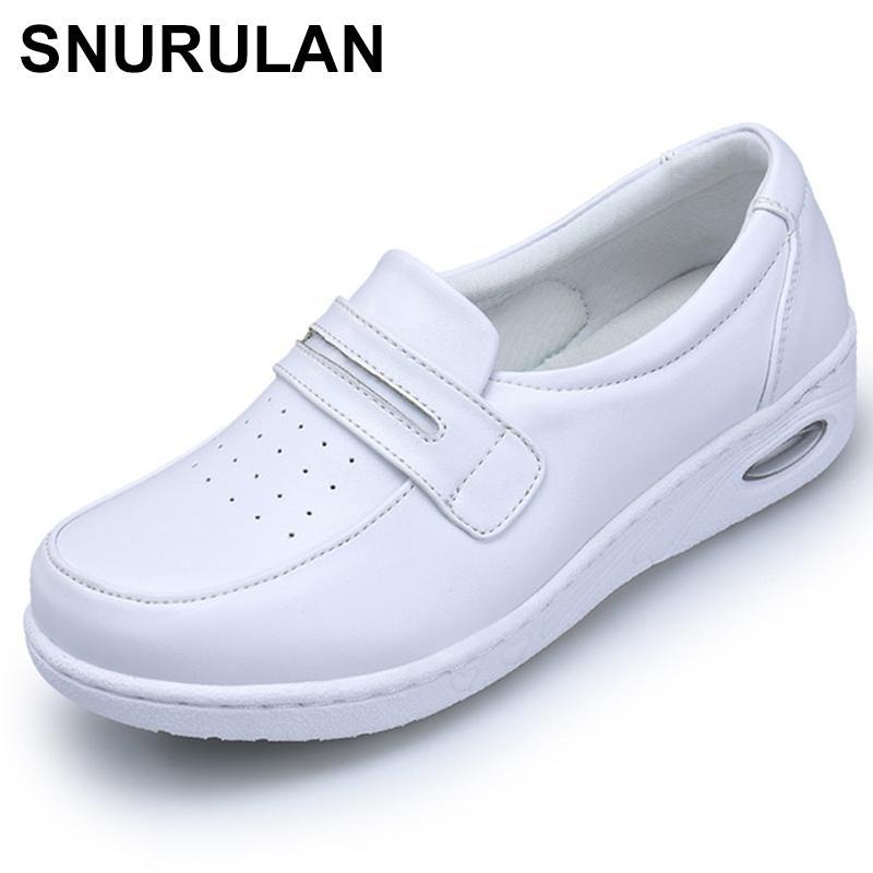 Enfermera Puro De Mujeres Snurulan Compre Blanco Mujer Zapatos ntqFwT4xYT