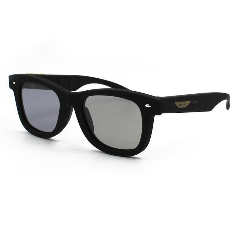 404596e8c17 Original Design Sunglasses LCD Polarized Lenses Electronic Transmittance  Mannually Adjustable Lens Sun Glasses Vintage Frame A1 Sunglasses Eyeglasses  From ...