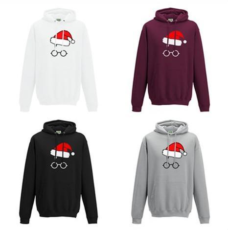 77baee58 2019 Harry Potter Hoodies Santa Claus Print Unisex Autumn Winter Fashion  Hoodie Christmas Sweatshirts Women Men Long Sleeve Pullover Tops S 2XL From  ...