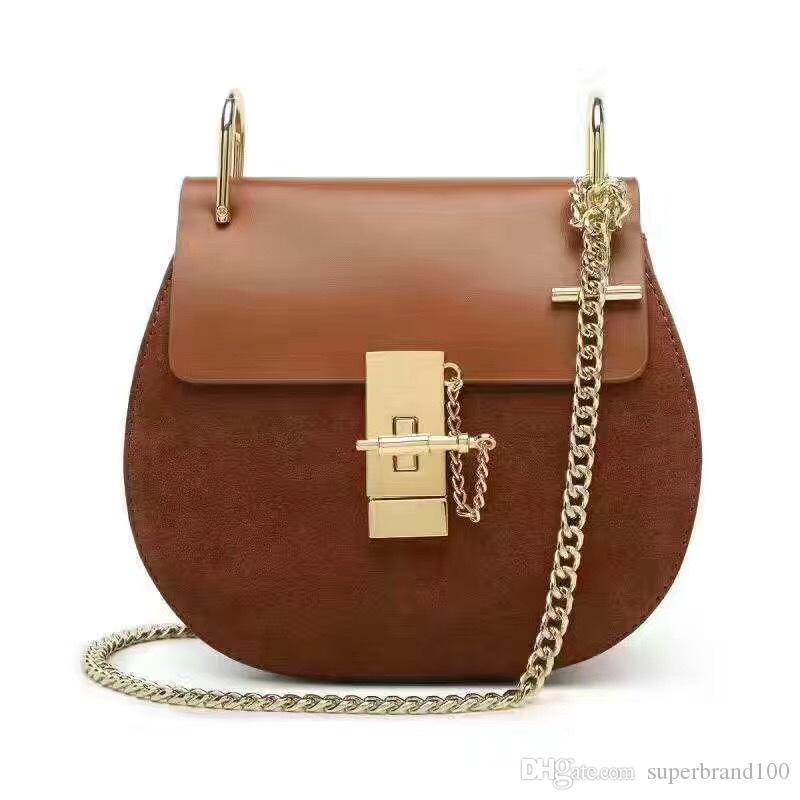 Frauen Messenger Bags PU Leder Handtasche Damen Kette Schultertasche Clutch Fashion Crossbody Tasche Marke Candy Farbe