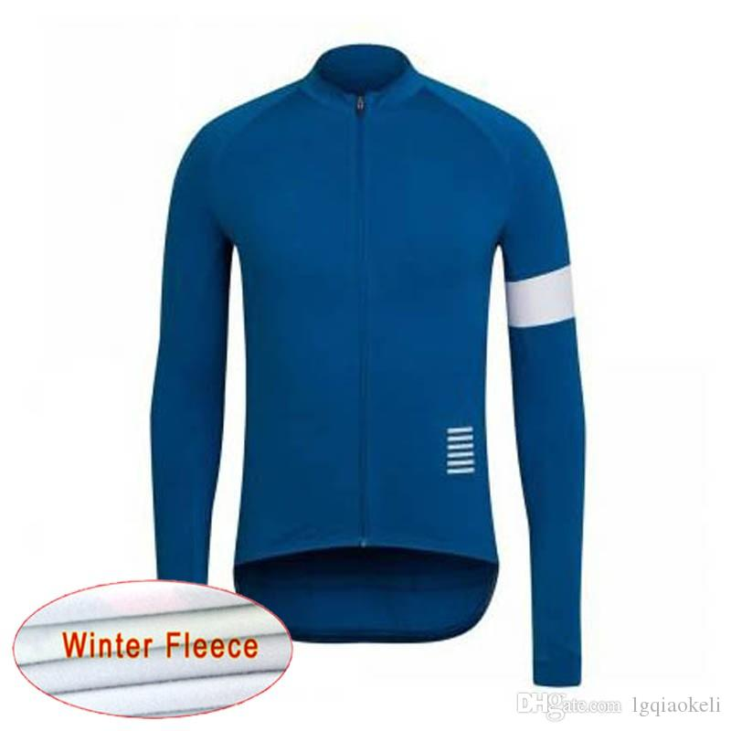 Rapha 2019 Cycling Jerseys Long Sleeve Men Bicycle Mtb Bike Clothes Winter  Thermal Fleece Cycling Clothing Sport Bike Riding Wear K111209 Biker T  Shirts ... 6cfe6a378