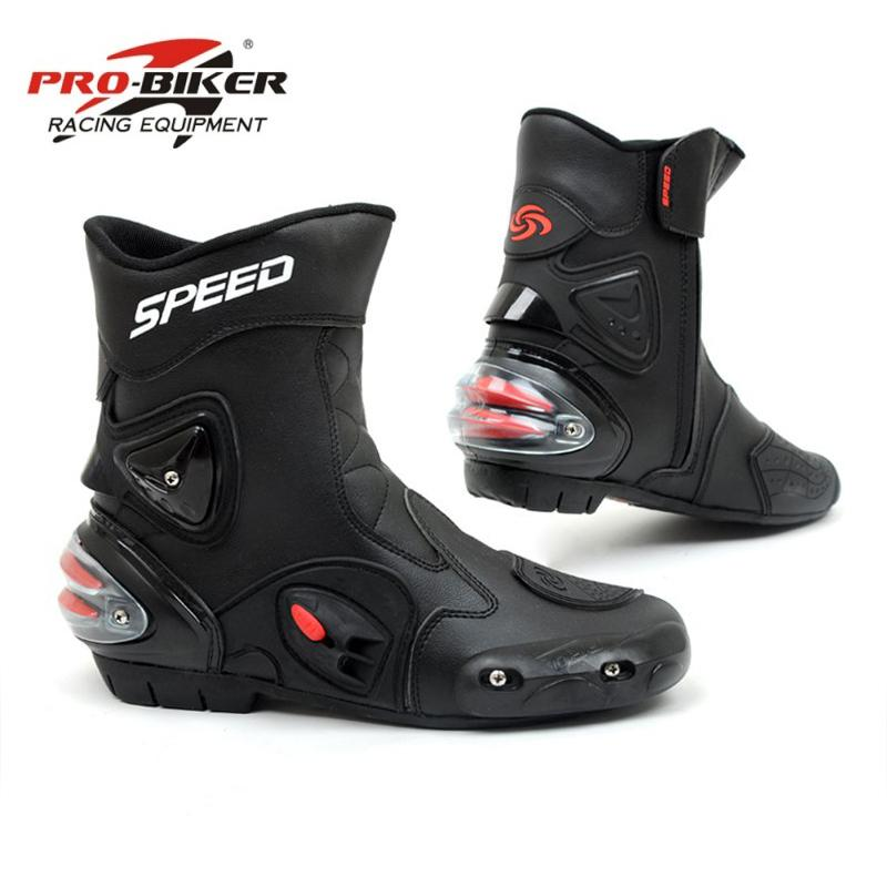 a0172a2022b Riding Tribe Motorcycle Boots Men Bota Motocross Botas Moto ...