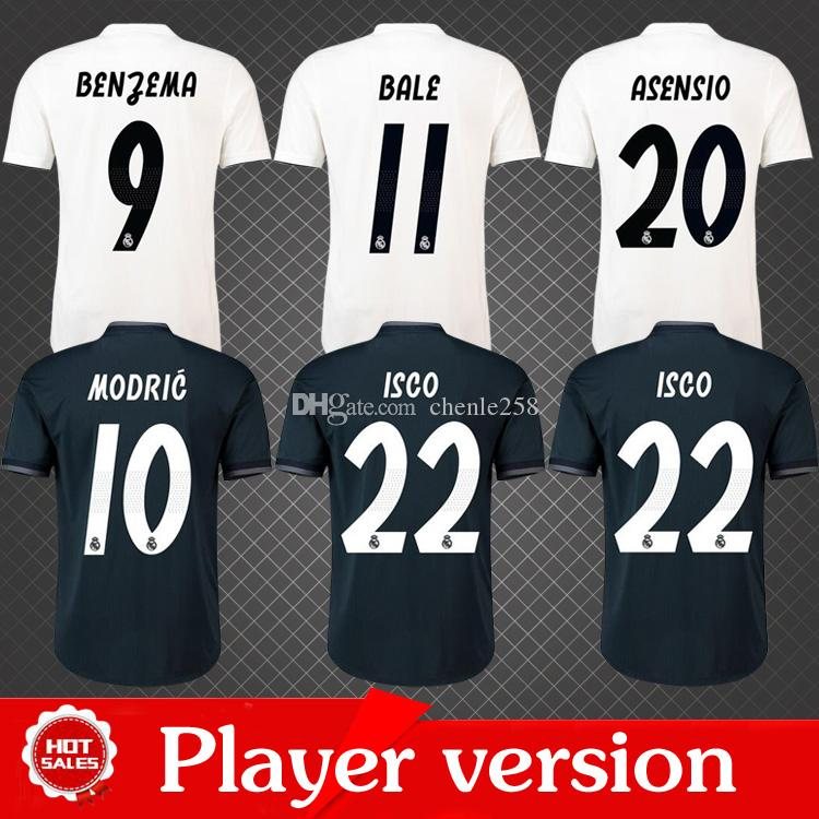 cf0045f58 2019 player version 2019 real madrid soccer jersey 2018 19 home