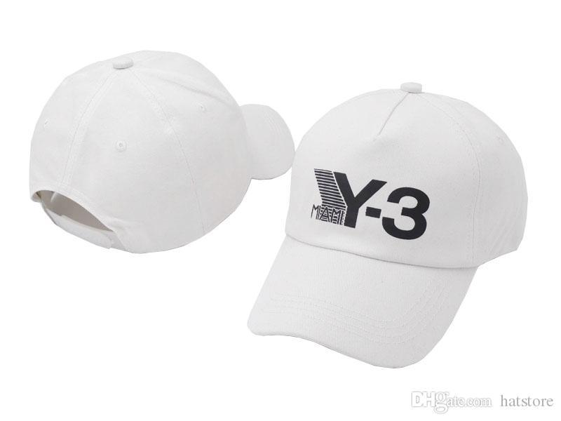 c637b20819c407 Baseball Cap 100% Cotton Luxury Brand MIAMI Y 3 Mbroidery Hats For Men 6  Panel Black Snapback Hat Men Casual Visor Gorras Bone Casquette Hats Online  Cap ...