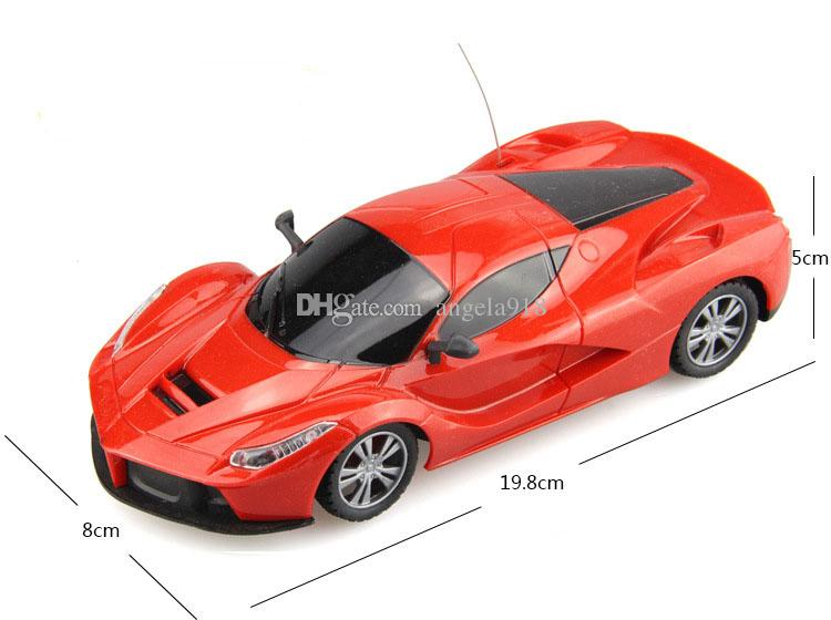 Mini 1:24 RC Auto Cartoon Elektrische Fernbedienung Auto Kinder Simulation Spielzeugautos Modell C4207