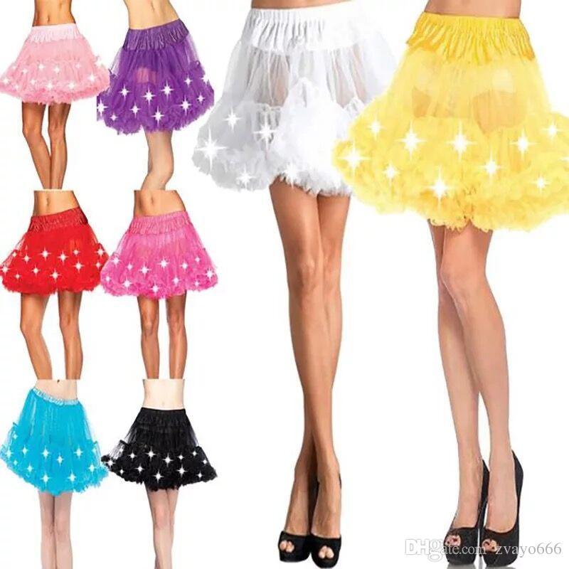 Girl flashing in a skirt