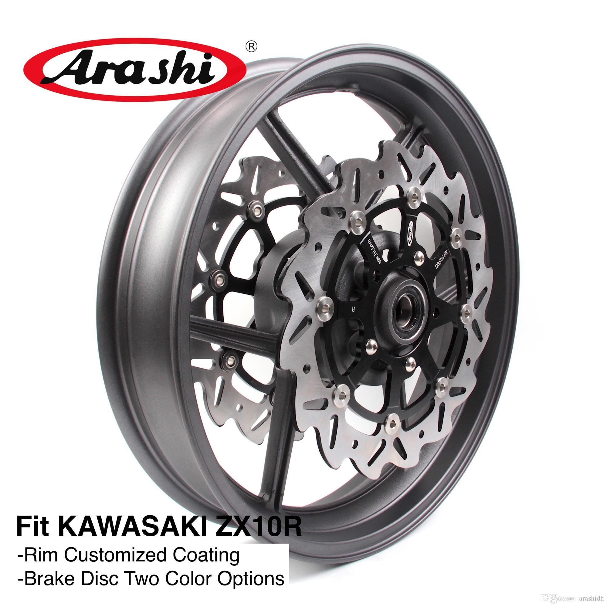 2019 Arashi For Kawasaki Ninja Zx10r 2006 2010 Front Wheel Rim Brake