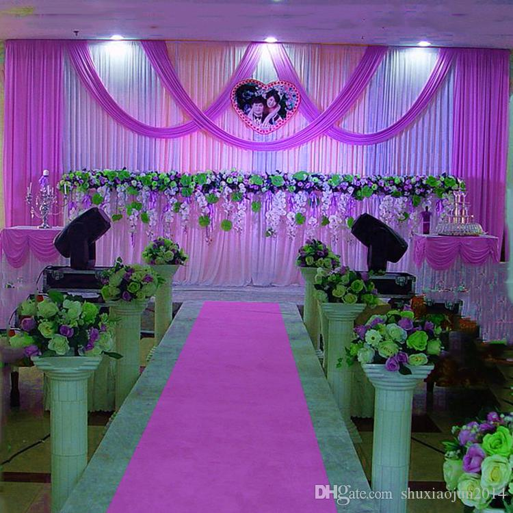 20ft 10ft Wedding Backdrop Swag Party Curtain Celebration Stage
