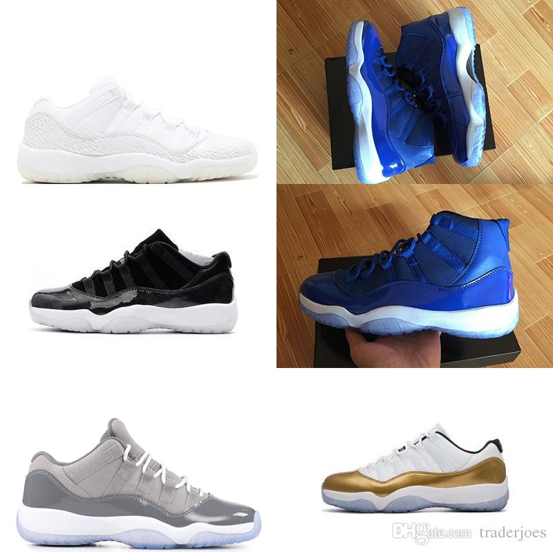 9c87f0e43c0 2018 Good With Box Mens And Women 11S Midnight Navy Space Jam Gym ...