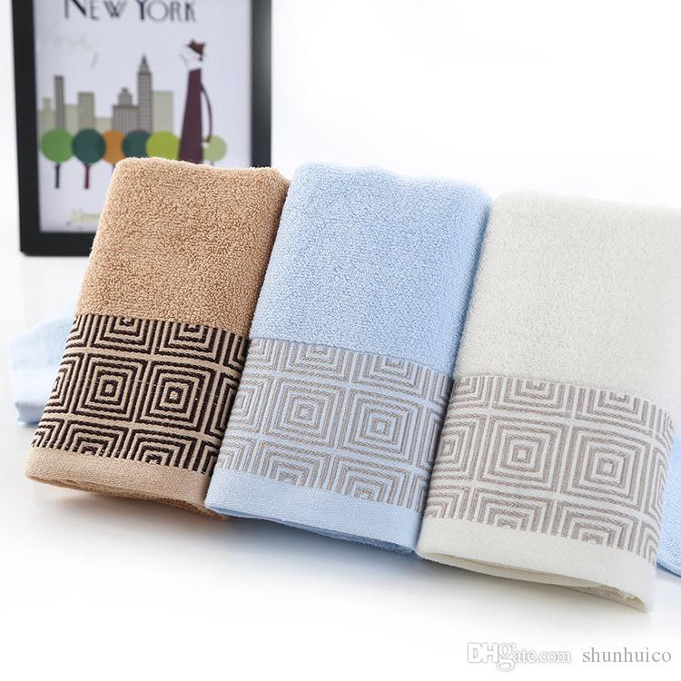 100% toalla de algodón toalla de cara sin desvanecimiento sin pelusa es de uso en el hogar toalla envío al por mayor envío libre DHL