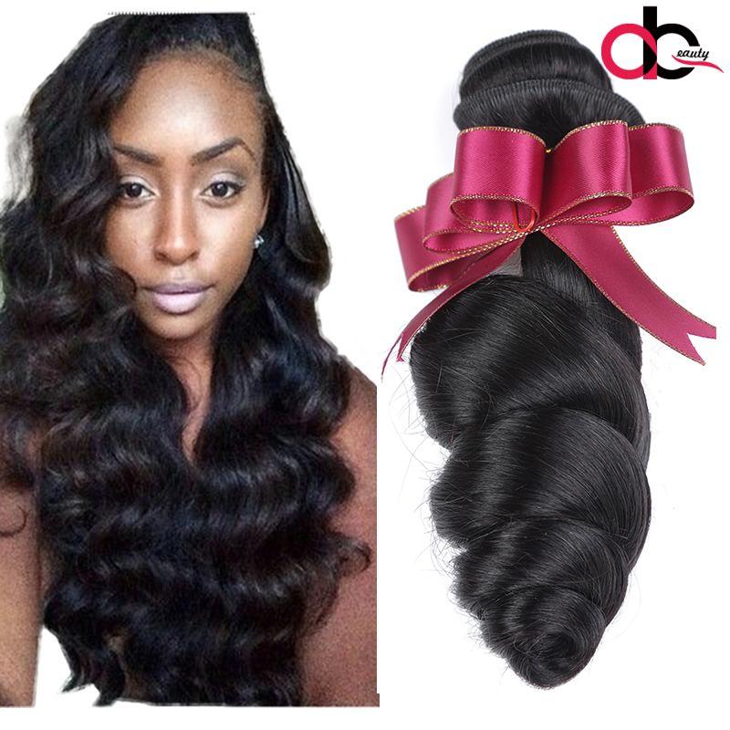 Unprocessed Brazilian Human Remy Virgin Hair Loose Wave Hair Weaves