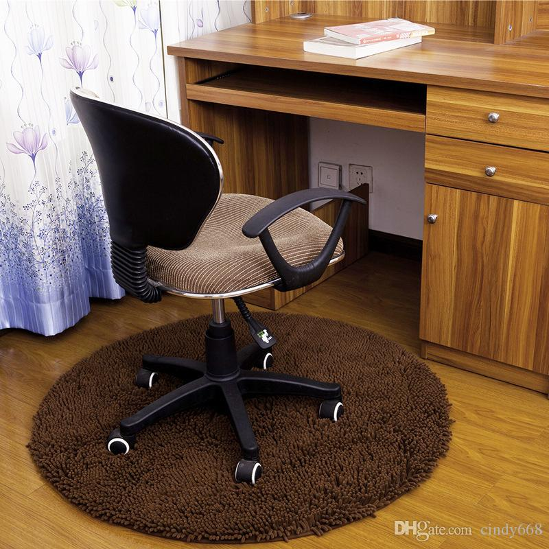 2019 Circular Computer Chair Mat Bedroom Bedside Carpet Bathroom Non