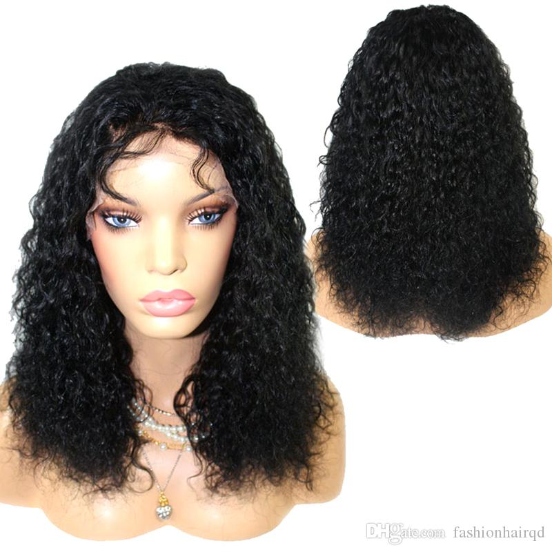 Lace Wigs Human Hair Lace Wigs 360 Lace Frontal Wig Mongolian Afro Curly Wigs For Black Women Pre Plucked With Baby Hair Natural Color Brazilian Remy Hair Wigs