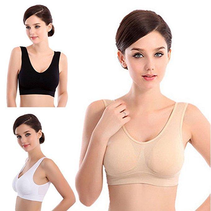 28c4b99397 2019 Sexy Genie Bra With Pads Seamless Push Up Bra Plus Size XXXL Underwear  Wireless Drop Shipping From Humphray