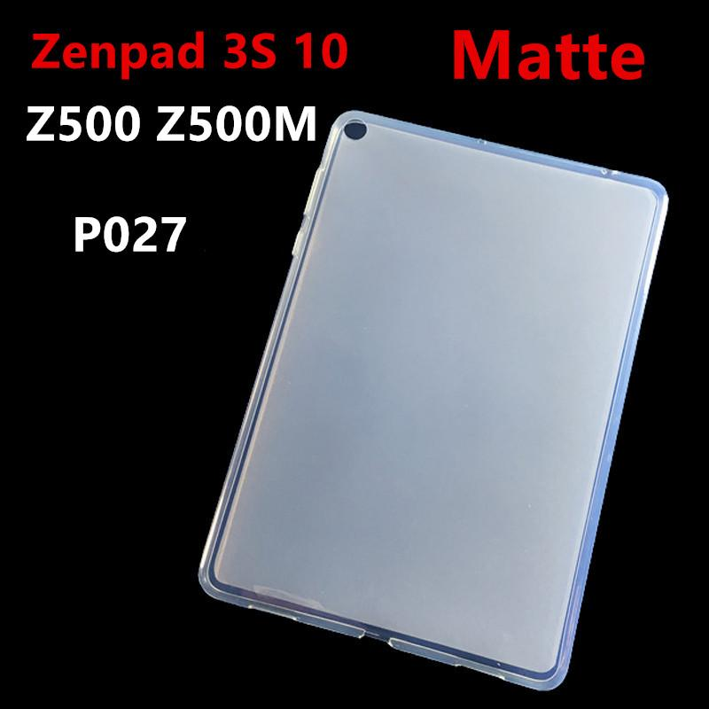 big sale b4440 c4bd7 Zenpad 3 S 10 Matte Soft TPU Silicone Back Cover Case For Asus ZenPad 3S 10  9.7 Z500M Z500 P027 tablet case Protective shell