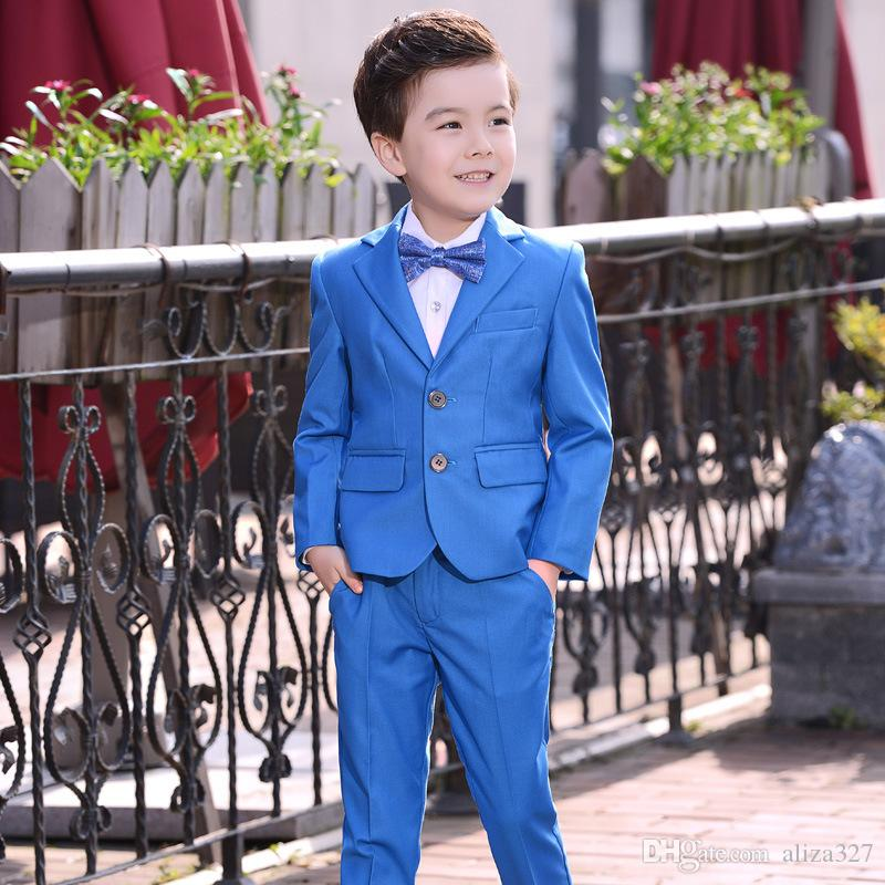 a5dfd07d8 3 12 Years Old Boy Flower Girl Dress Children Small Suit Boy Suit Three  Piece Piano Performance Clothing Groom Suit Hire Kids Clothes Shop From  Aliza327, ...
