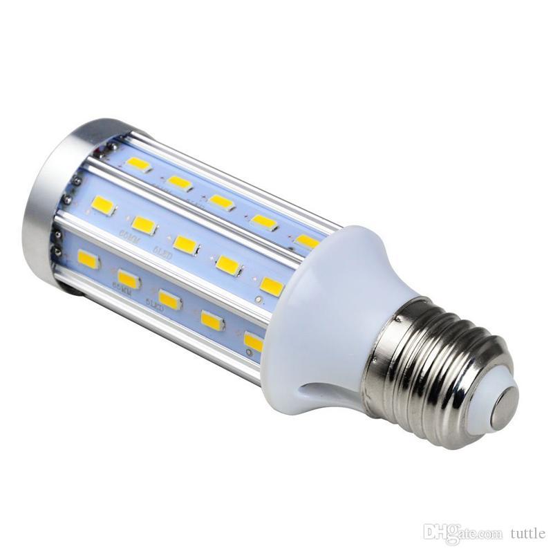 برايت ألترا PCB الألومنيوم 5730 SMD LED الذرة لمبة 85V-265V 10W 15W 20W 25W 30W 40W 60W 80W لا الرجفة LED مصابيح