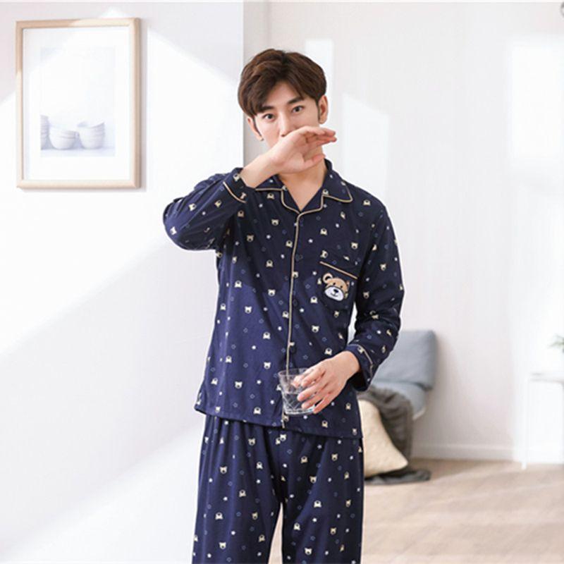 revendeur b2ed2 49098 Couple de pyjamas matelassés en coton femme pyjama à manches longues  automne hiver