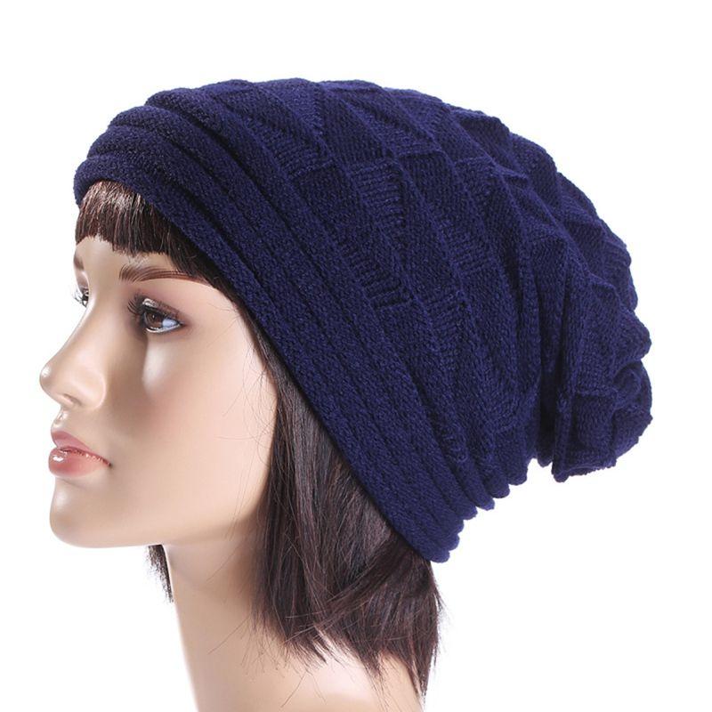 2a3bf562c1d01 2018 Fashion Women Winter Warm Hats Knit Turban Twist Hair Wrap Solid  Casual Fashion Hat Cap Knit Turban Newborn Hats Knit Beanie From Jianyue16