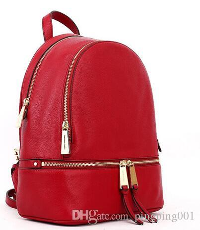 01a2b2637a3a 2018 Backpacks Designer 2018 Fashion Women Lady Black Red Rucksack Bag  Charms  254654967 Man Bags Jute Bags From Pingping001