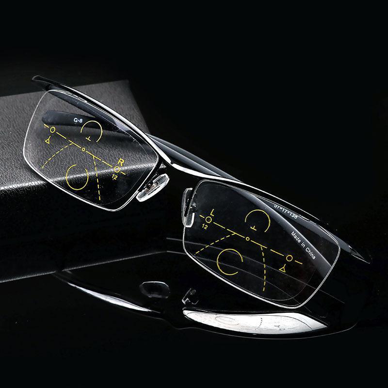f7037af50ed TR Multi Focus Glasses Progressive Resin Lens Distance Dual ...