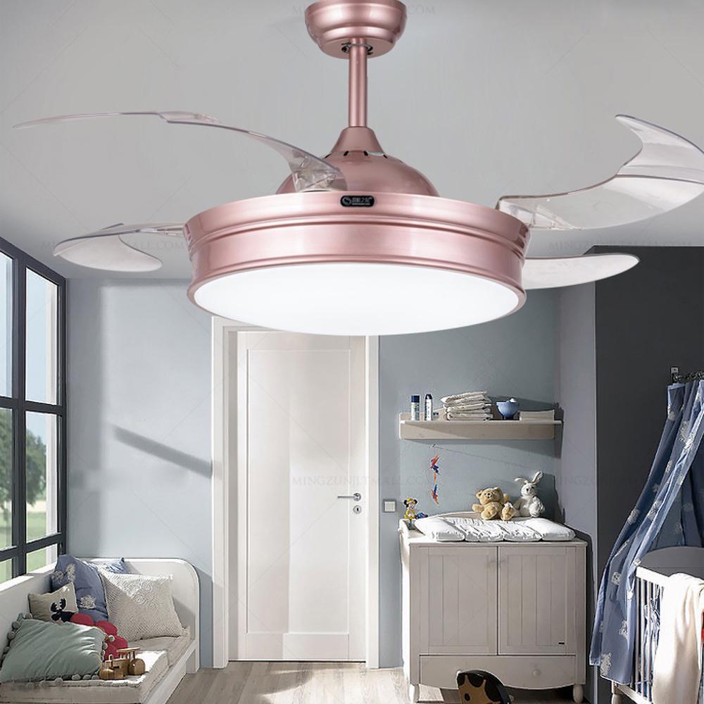 Led Modern Alloy Acryl Ceiling Fan Led Lamp Led Light Ceiling Lights