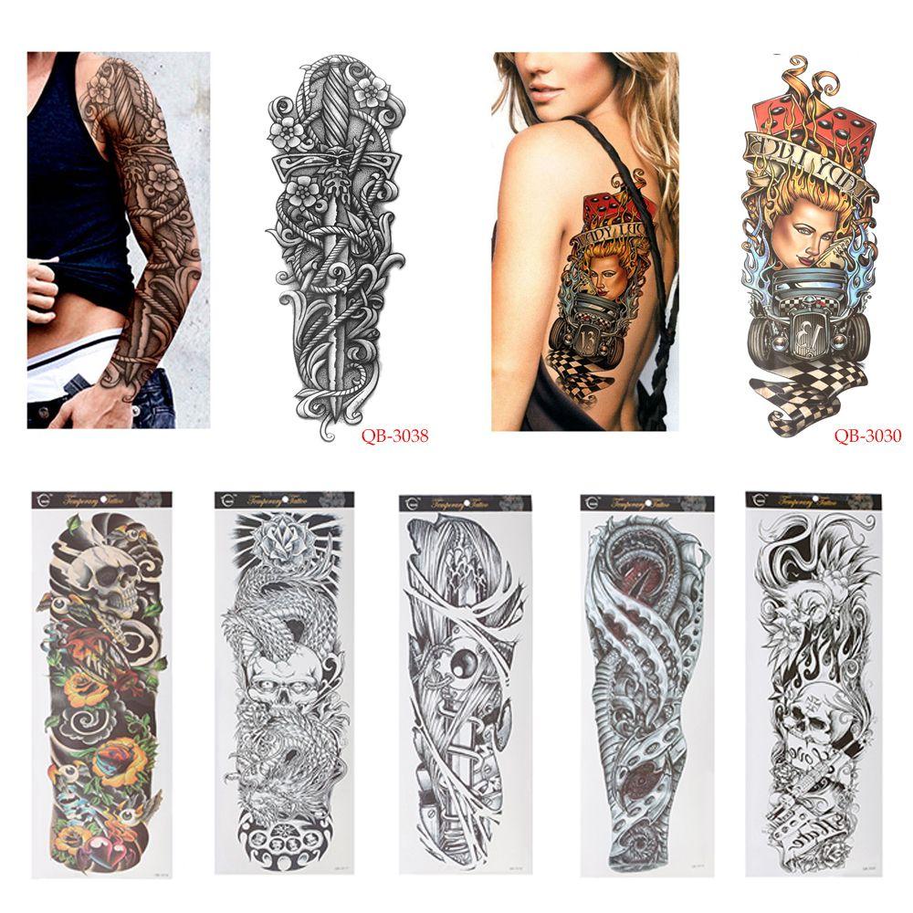 Diy Temporary Tattoo Stickers Waterproof Nun Girl Pray Design Full