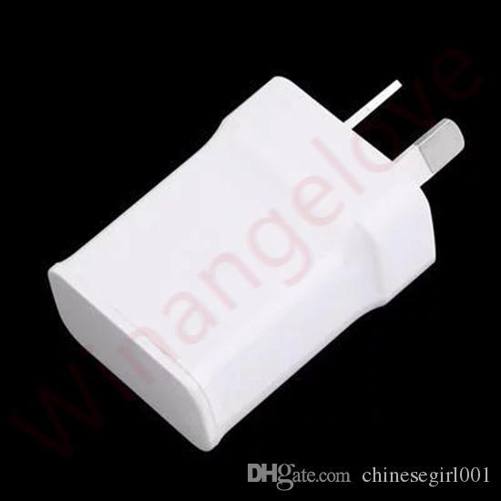 Новая Зеландия 5 В 2A AU Разъем USB AC Power зарядное устройство дома для Samsung Galaxy Note 2 3 4 N7100 s6 s7 s8