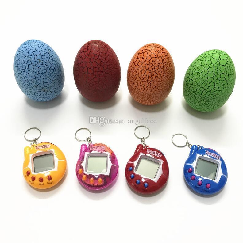 Tamagotchi Electronic Pets Dinosaurier Ei Hohe Qualität 90 S Nostalgische 49 Haustiere in Einem Virtuellen Cyber Funny Pet Spielzeug Weihnachtsgeschenk