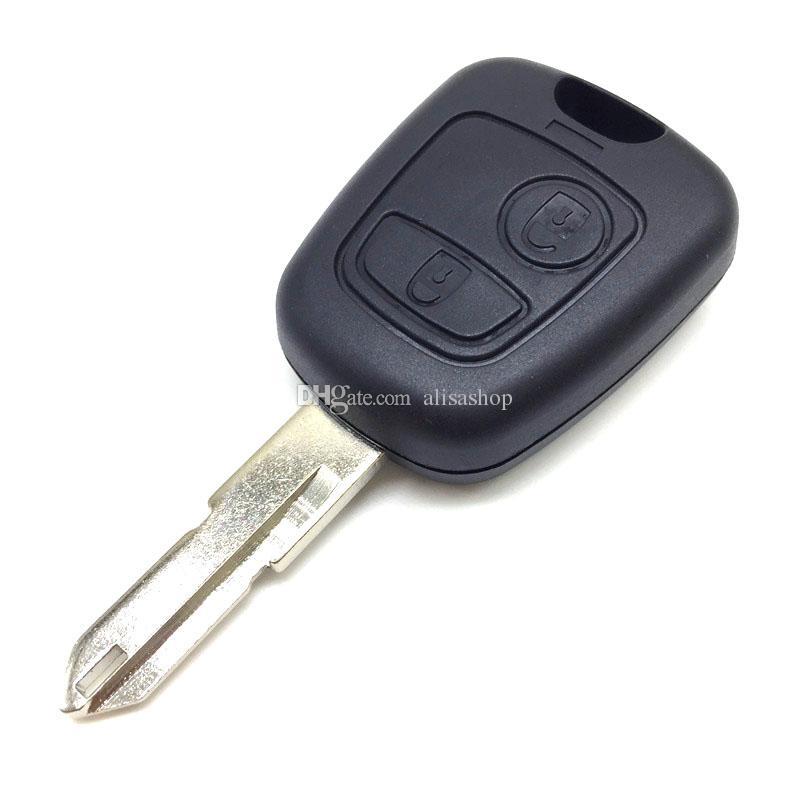 Car key shell for citroen peugeot 2 buttons remote key shell Citroen Car Replacement remote car key shell for Citroen peugeot