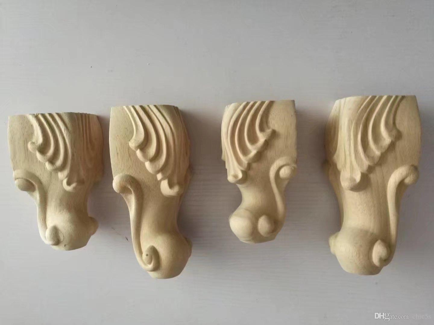 2018 Wood Carving, Solid Wood Furniture, Feet, European Style Carving Feet,  Bath Cabinet Feet, Tables, Chairs, Feet And Sofa Feet.