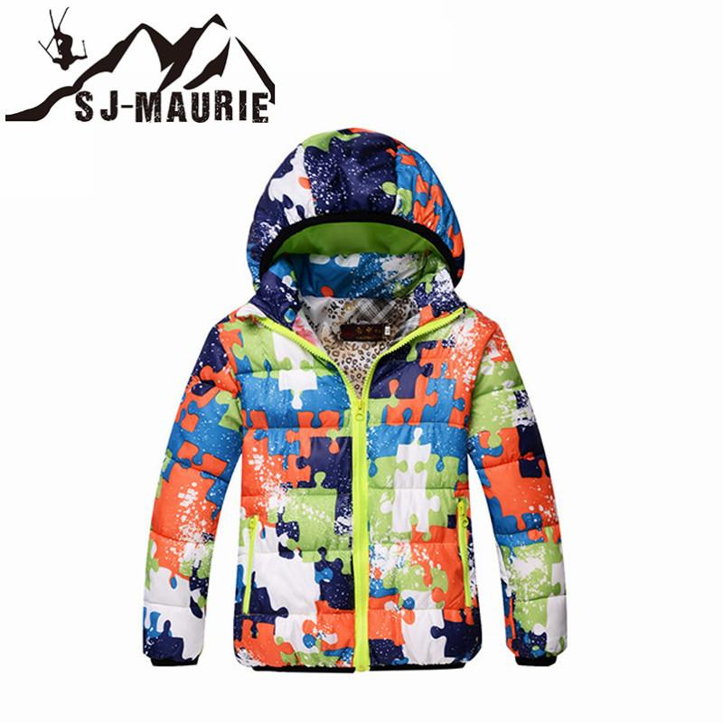115405e27b35 2019 Children Winter Ski Jacket Boys Girls Windproof Waterproof ...