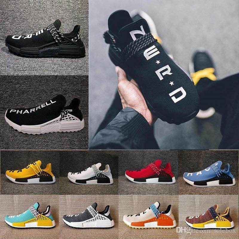 a5c75a657bdd Mens And Women Pharrell Williams Hu NMD TR NMD Human Race Truth ...