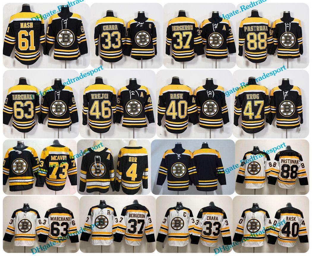 2018 Boston Bruins 61 Rick Nash Patrice Bergeron Bobby Orr Chara ... dc47b3c31