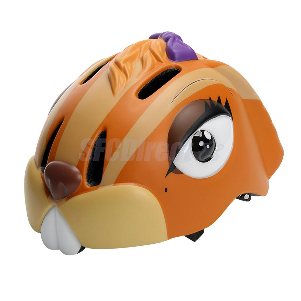 Kids Cartoon Helmet Safety Mountain Bike Bicycle Cycling Helmet Head Gear