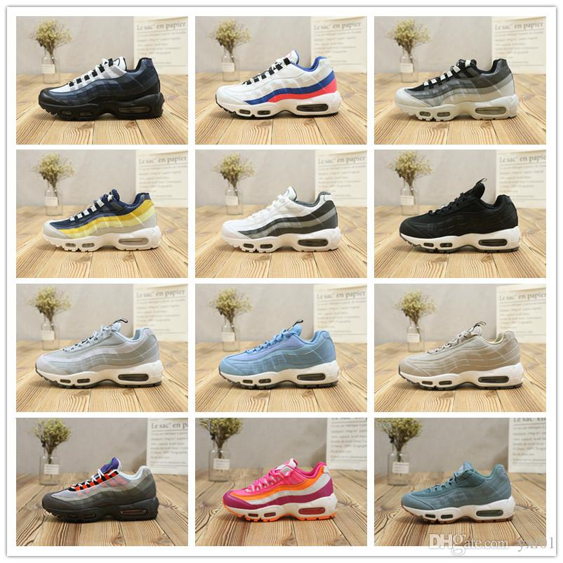 online store f1e4c 6928c 2018 Cheap Sale 95 Essential TT 20th We Love atmos Sports Running Shoes for  Top 95s Zapatillas Women Mens Trainers Sneakers Size 36-46