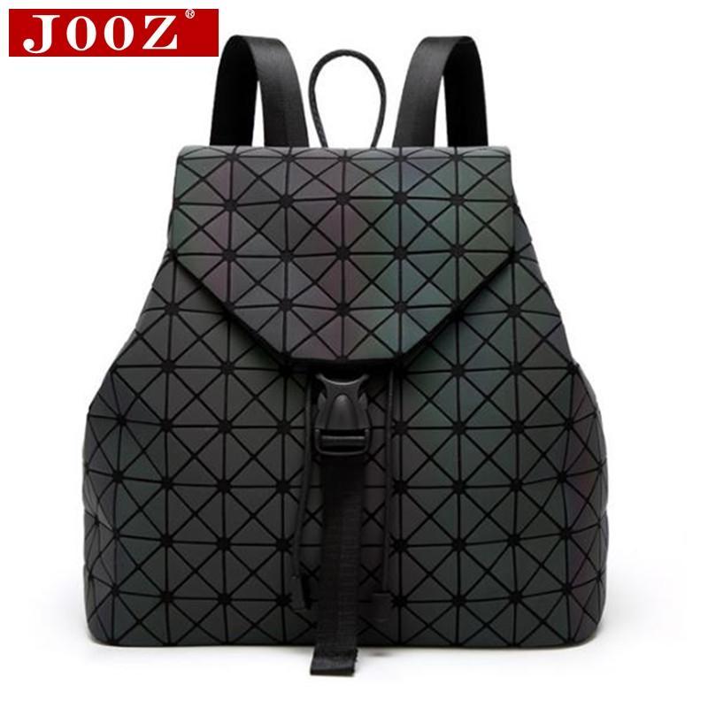bde22dd84c OOZ Luxury Luminous Women Backpacks Big Capacity Students Daypacks School  Bags For Girl Fashion Bling Hologram Female Bagpack JOOZ Luxury... Best  Laptop ...